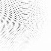 Fotografie Schwarze und weiße Halbton Hintergrund Vektor