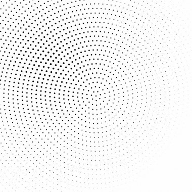 black and white halftone background vector