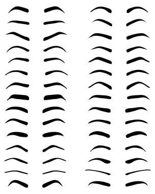 eyebrows, tattoo designv