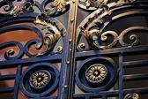 Fotografia recinzione in ferro battuto