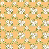 Bezešvé vzor s kytice květiny kreslené