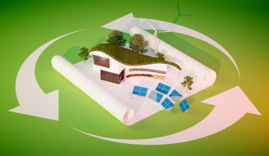 Concept of sustainable living