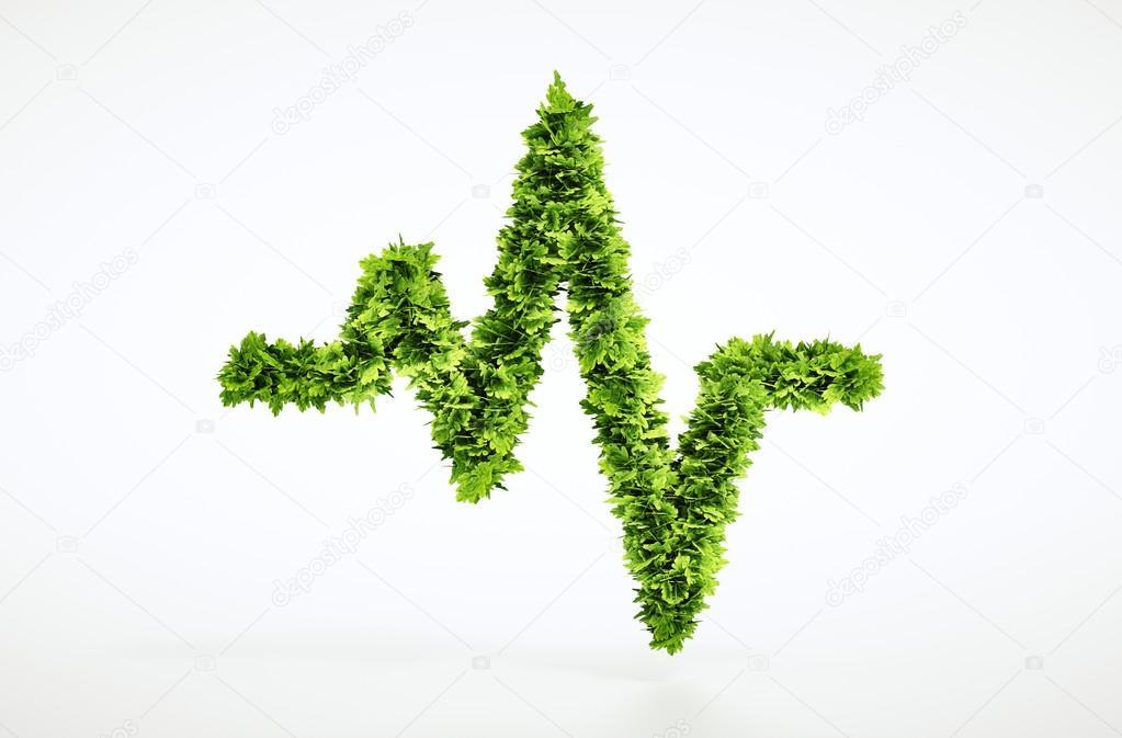 Eco life pulse sign