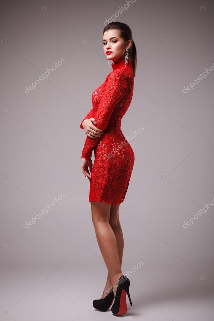 Vestidos rojos para mujer