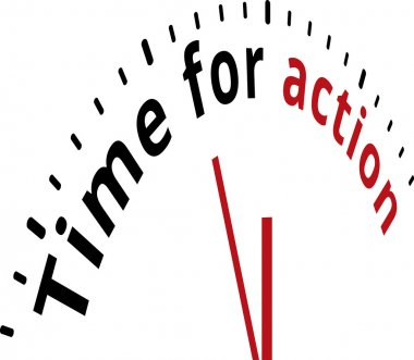 Time for action clock