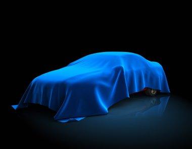 "Картина, постер, плакат, фотообои ""новая модель автомобиля"", артикул 59982613"