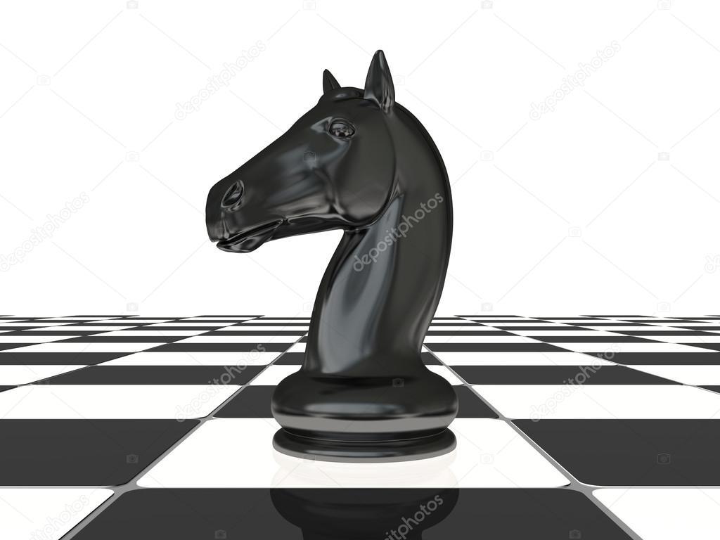 Chess Knight On The Board Photo By ILexx