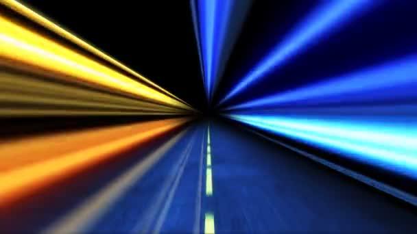 Vysoká rychlost jízdy v noci
