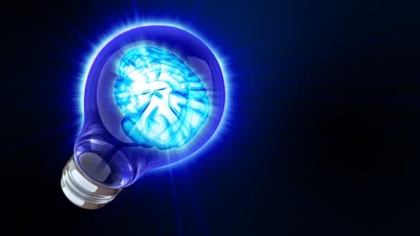 Mozek uvnitř žárovka