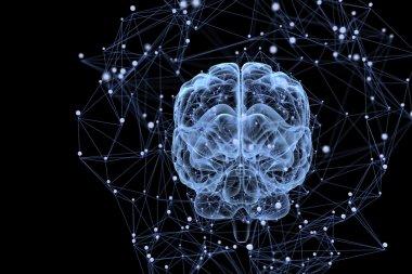 Brain activity concept