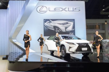 Unidentified model with Lexus RX 200t Car
