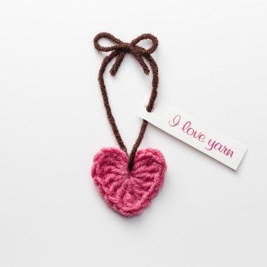 Love Yarn tag