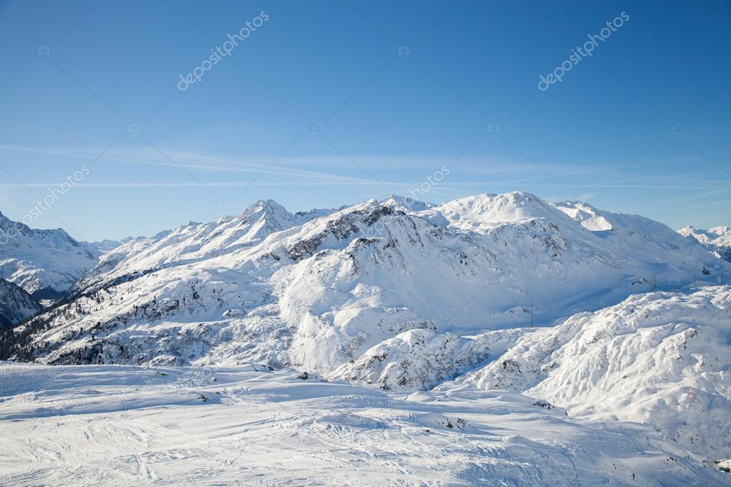 Alpine ski resort St. Anton
