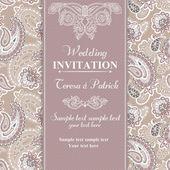 esküvői meghívó-bézs stílusban