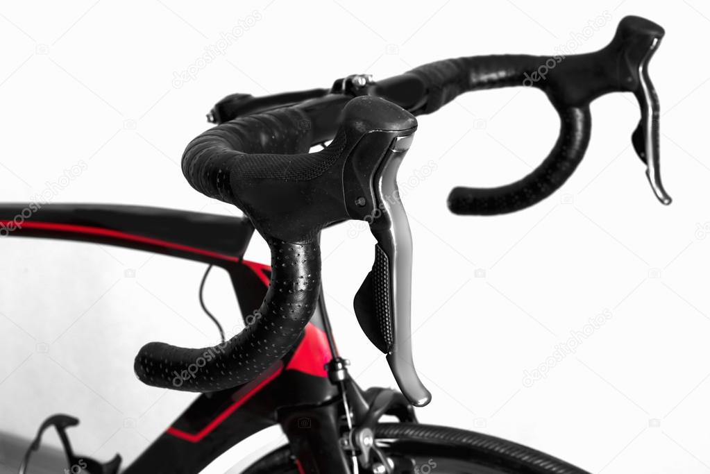 details bicycle chain wheel, frame, steering wheel — Stock Photo ...