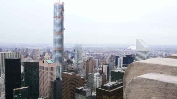 Skyscrapers of Manhattan in New York