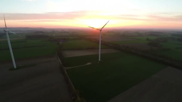 Wind turbines producing renewable energy