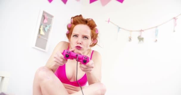 lány játék video játékok
