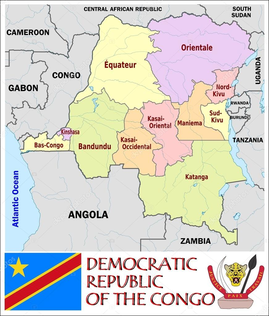 Democratic Republic of the Congo Administrative divisions Stock