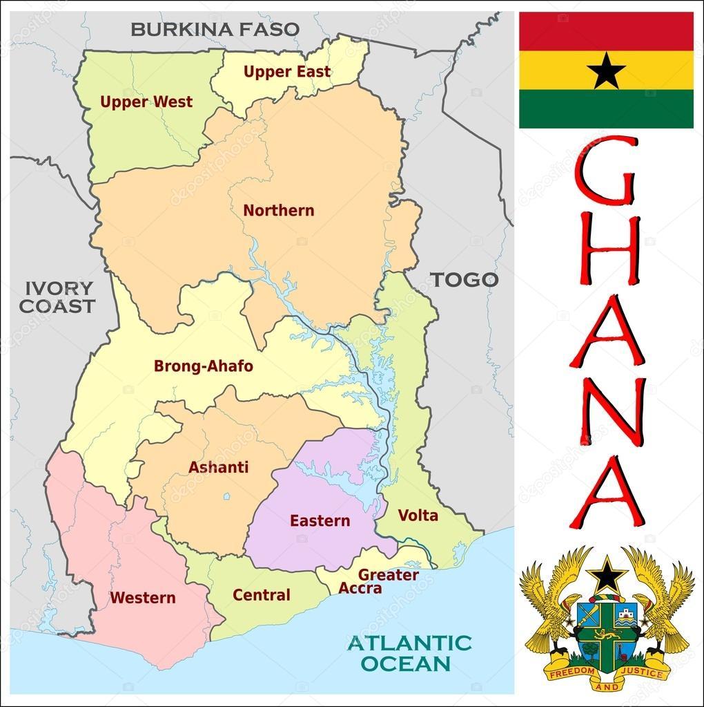 ガーナの地方行政区画 — ストッ...