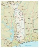 Photo Togo physiography map