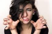 Fotografie Bláznivá holka portrét