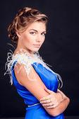 Fotografie Fashion beautiful womans hairstyle