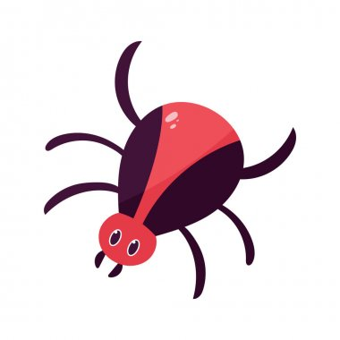 Isolated cartoon of a tarantula - Vector illustration icon