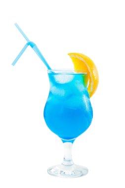 Long drink blue lagoon