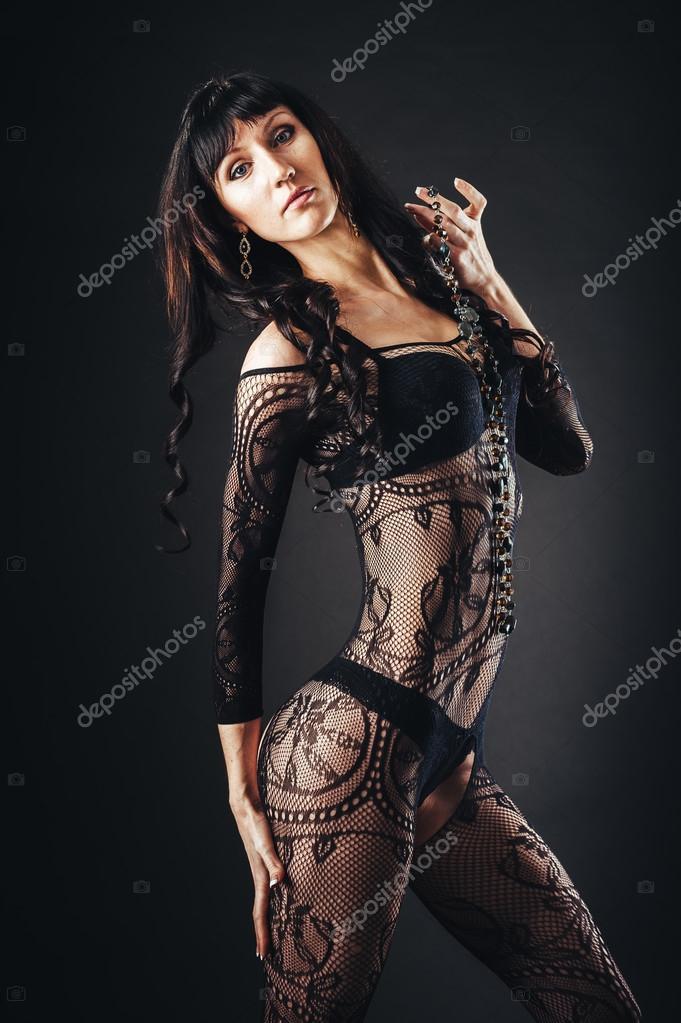 krásné nahé černé ženy
