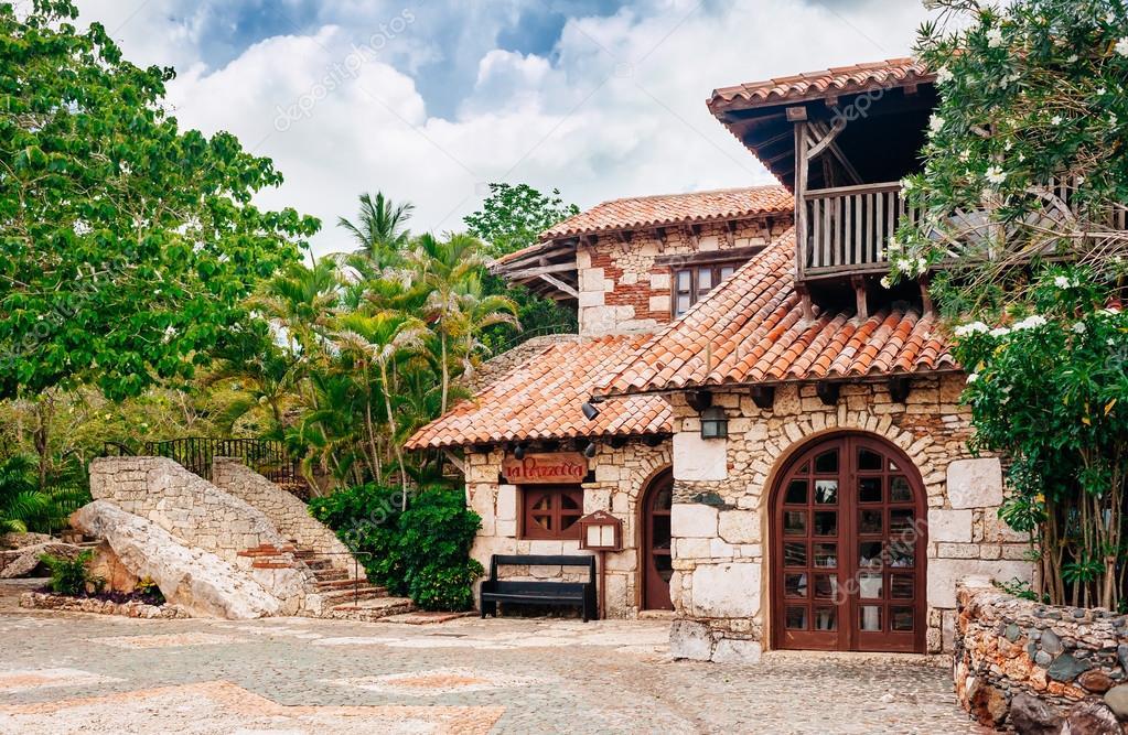 Antiga Aldeia Altos De Chavon Colonial Cidade