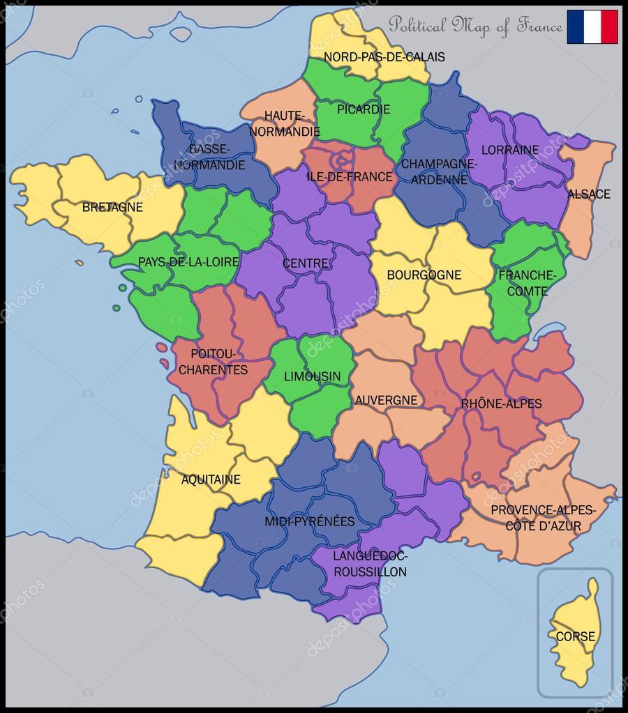 Mapa Politico De Francia 2019.Imagenes Francia Mapa Politico Mapa Politico De Francia