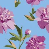 Fényképek Szép varrat nélküli virágmintás bazsarózsa