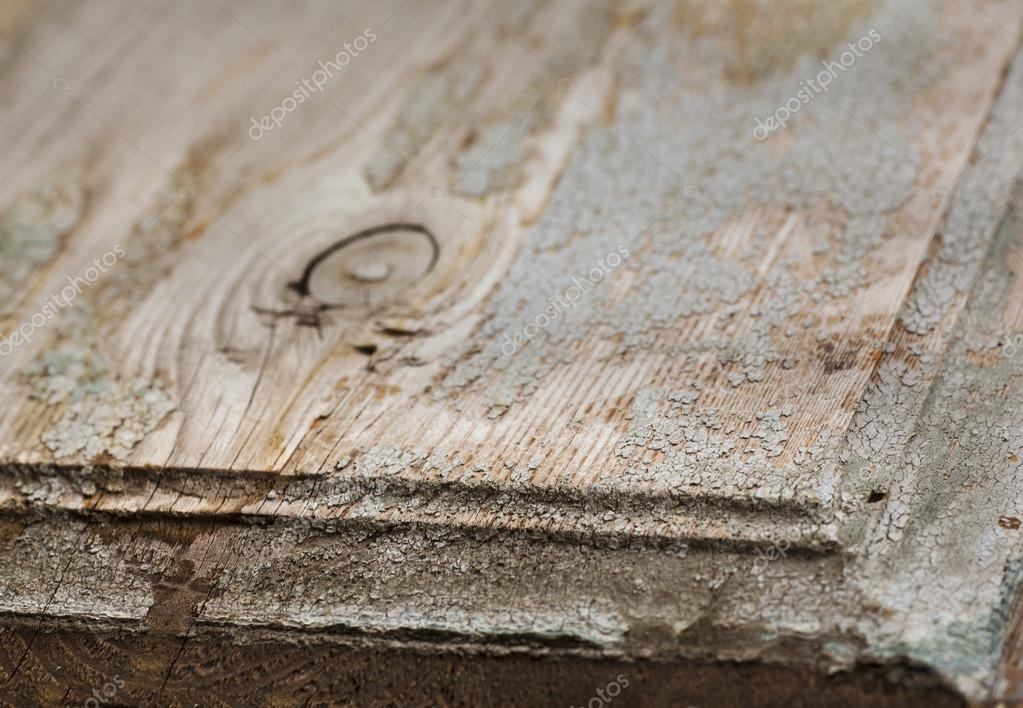 Oude houten tafel met lichte verf close u stockfoto artnature