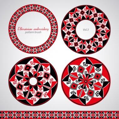 Ukrainian embroidery brush set