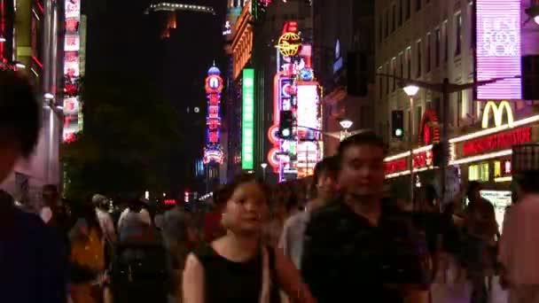 People walking on a street