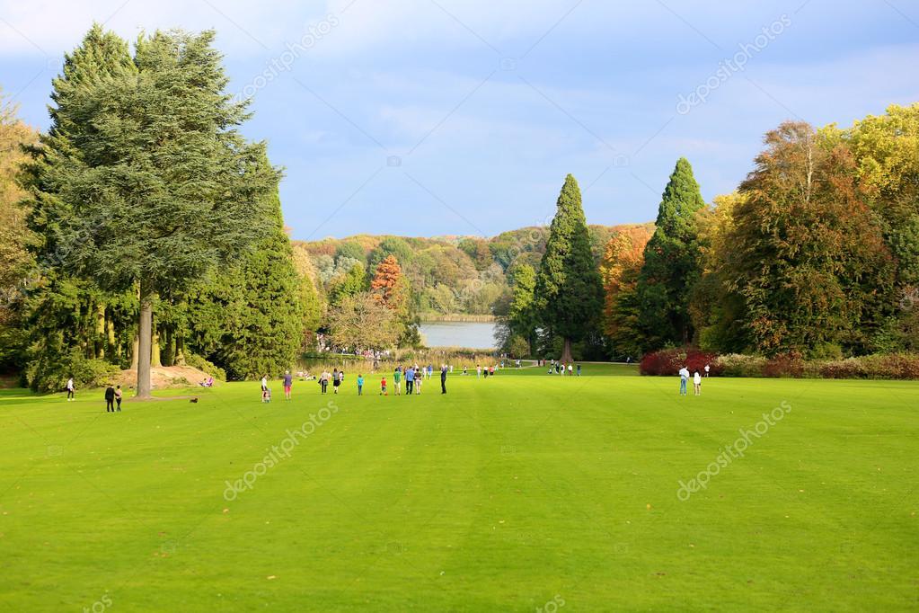 Beautiful recreational park