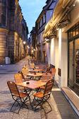 Fotografie Mittelalterliche Stadtbild im Hystorical Teil von Straßburg, Elsass, Frankreich