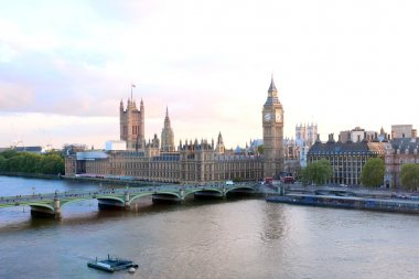 Fantastic cityscape, view from London Eye