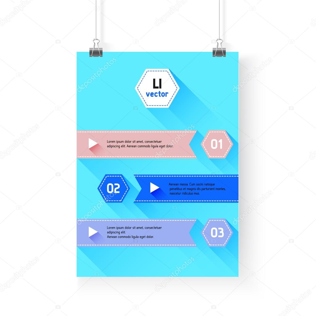 Antecedentes de la infografía de negocios. Plantilla de capa, vector ...