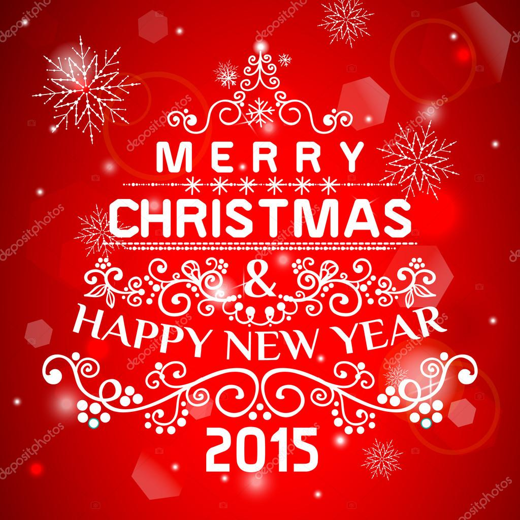 Weihnachtskarte Ornament dekoration Hintergrund. Vektor-Illustration ...