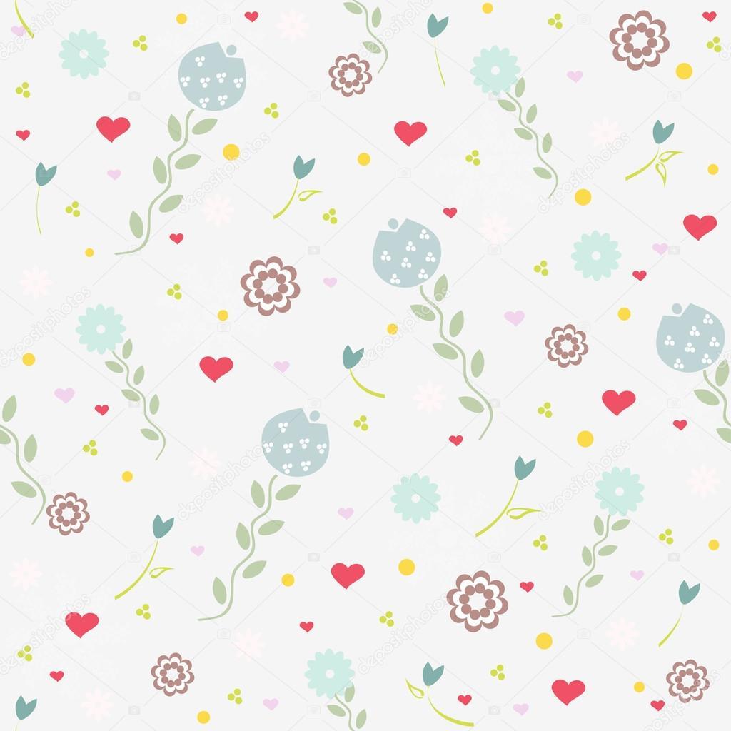 Patrones antiguos flor — Vector de stock © milissa4like #77303904