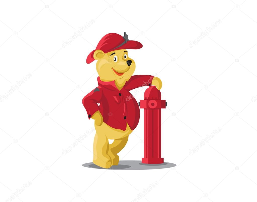 Firefighter Bear icon