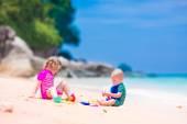 Fotografie Kinder am Strand