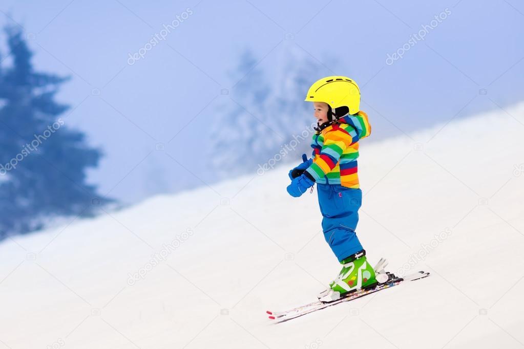Kid Learning Skiing Videos