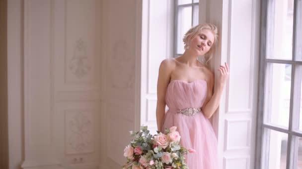 Krásné, jemné a ženské nevěsta.