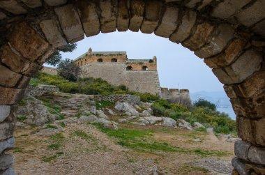 Historical Palamidi Fortress in Nafplion, Argolis - Greece