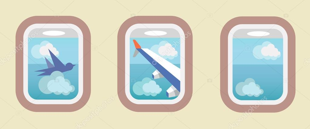 Aircraft Windows, airplane windows