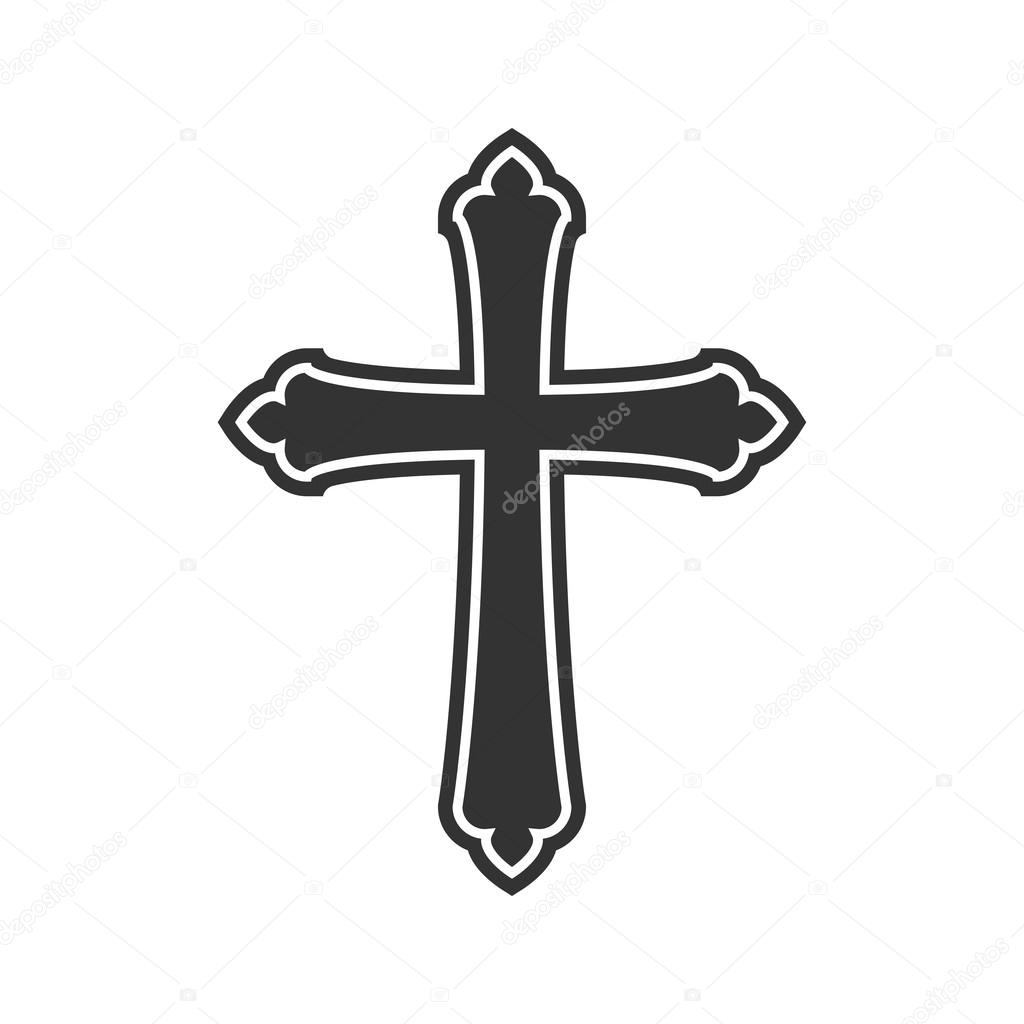 Symbol of a church cross christianity religion symbol stock symbol of a church cross christianity religion symbol stock vector biocorpaavc Gallery