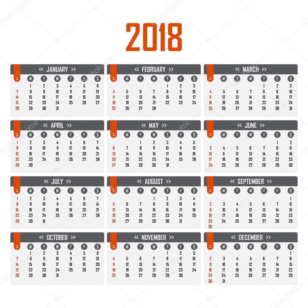 Calendario De Semanas.Calendario Por Semanas 2018 Mexico Calendario Para El 2018 La